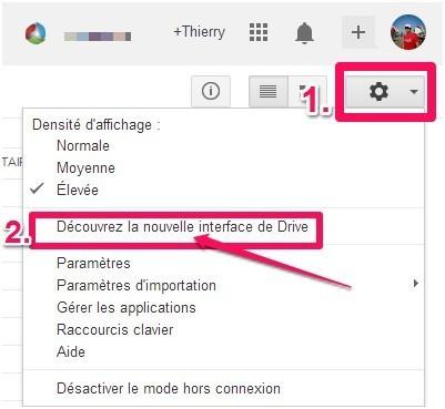 Guide utilisateur de la nouvelle interface de Google Drive | Boite à outils web | Scoop.it