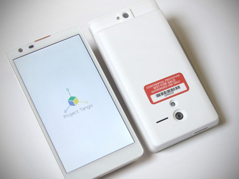 Google Launches Project Tango Smartphone To Experiment With Computer Vision And 3D Sensors | TechCrunch | Geekeries & Curiosités | Scoop.it
