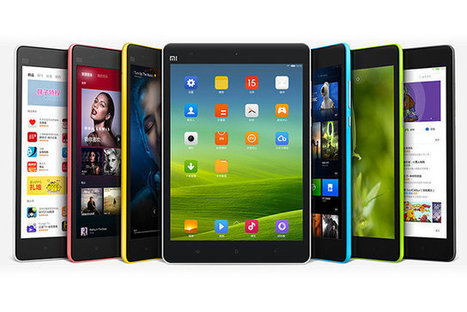 China's Xiaomi Unveils Mi Pad, a Plastic iPad Mini for Android Fans [Video] | TheBlogIsMine | Scoop.it