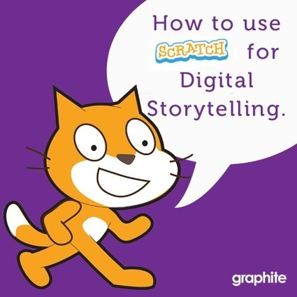 How to Use Scratch for Digital Storytelling | Prendi eLearning Literacy & Humanities Technology | Scoop.it