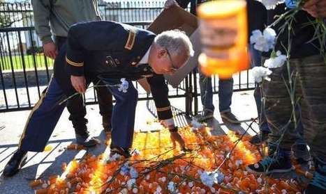Veterans drop hundreds of empty pill bottles in front of the White House | Criminal Justice in America | Scoop.it