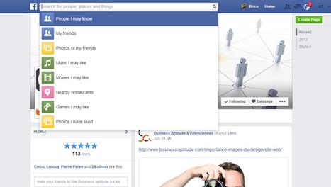 Le Graph Search : Quand Facebook revisite le moteur de recherche | WebMarketing | Scoop.it