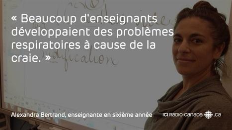 Le tableau interactif en classe, ça change quoi? | ICI.Radio-Canada.ca | école numérique | Scoop.it