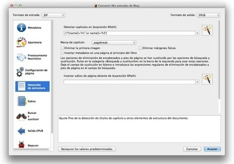 TUTORIAL: Cómo generar un e-book de forma sencilla y satisfactoria a partir de un libro en Word | Docentes y TIC (Teachers and ICT) | Scoop.it