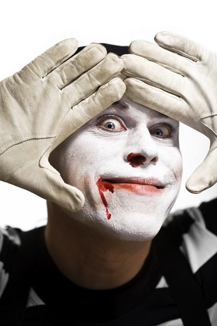 Studio Lighting Tutorial, mime portrait | Studio Lighting | Scoop.it