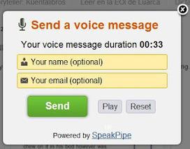 Mensajes de voz | Recursos, aplicaciones TIC, y más | Scoop.it