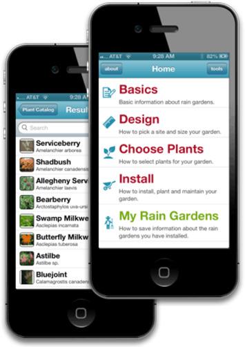 A rain garden app | Garden apps for mobile devices | Scoop.it
