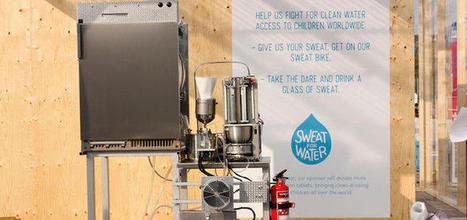 Sweat Machine : transformez votre sueur en eau fraîche | Tout savoir sur l'eau | Scoop.it