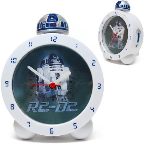 One Droid to Wake Them All: A Glow in the Dark R2-D2 Alarm Clock | Tech-o-Gadgets | Scoop.it
