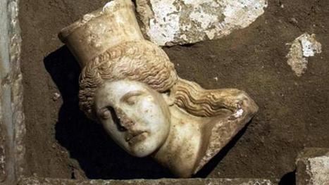 Grèce. Le tombeau antique d'Amphipolis dévoile le squelette du défunt | Monde antique | Scoop.it