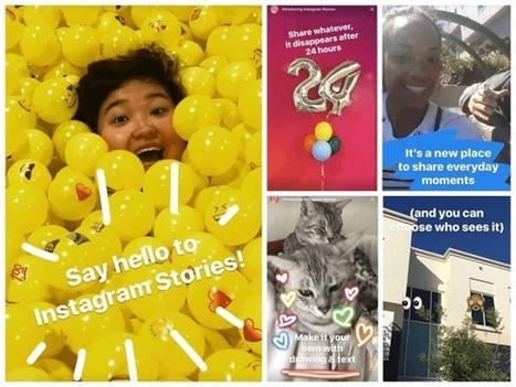 How to Create Instagram Stories #socialmediamarketing | MarketingHits | Scoop.it