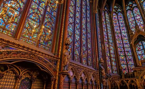 The Sainte-Chapelle in Paris in interactive panoramic virtual tour | Ontvangen linken | Scoop.it