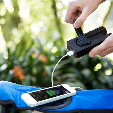 Manual Wind Up Phone Charger | Technology, Gadgets & Gizmos | Scoop.it