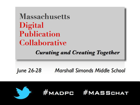 Massachusetts Digital Publication Collaborative   Professional Development   Scoop.it