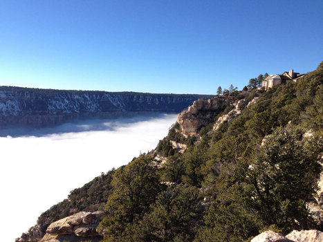 Every 10 Years a River of Fog Fills the Grand Canyon. This is What it Looks Like. | Conformable Contacts | Scoop.it