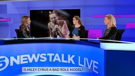 Is Miley Cyrus a good role model for teenage girls? | 5 News | St John's AS Psychology | Scoop.it