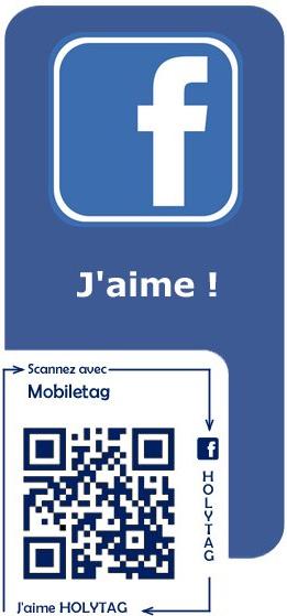 Holytag c'est aussi sur Facebook | Holytag : Code barres 2D et solutions marketing mobiles | Scoop.it