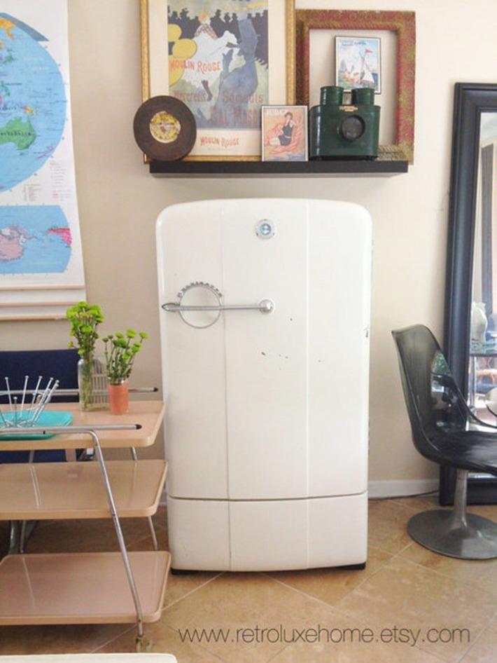 Kelvinator Refrigerator | Antiques & Vintage Collectibles | Scoop.it