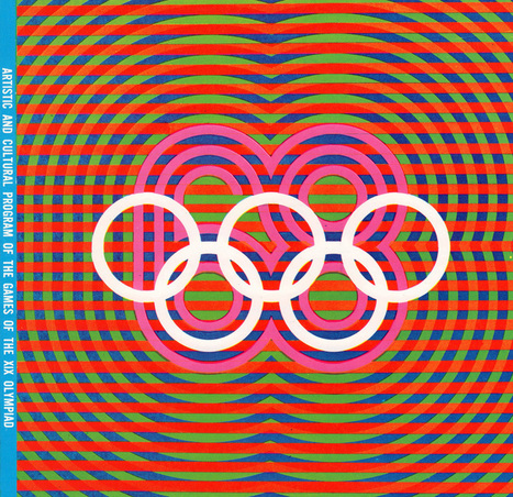 """GRAPHIC AMBIENT » Blog Archive » 1968 Mexico Olympics, Mexico   CF Art Dept """"stuff""""   Scoop.it"""