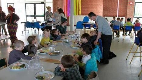 Les enfants du centre de loisirs communal mangent bio | La Bio en restauration Collective | Scoop.it