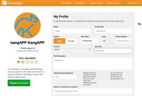 How does Kangapp work? Explanation and tips | Kangapp | P2P Tourism | Scoop.it