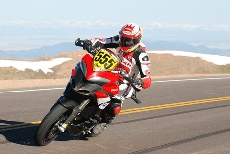 Ducati officially @ Pikes Peak | Ducati news | Scoop.it