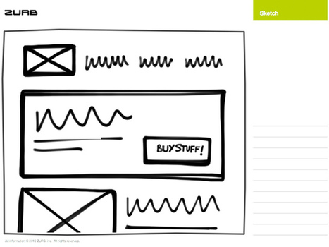 Responsive Sketchsheets - ZURB Playground - ZURB.com | For K1 | Scoop.it