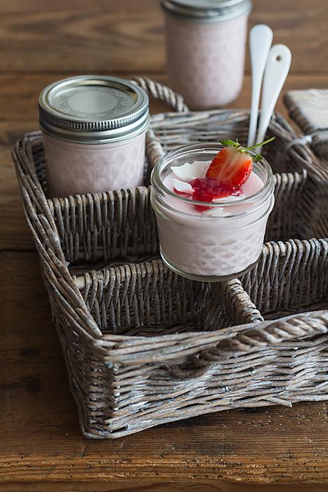 Vasitos de mousse de fresas y queso | Passion for Cooking | Scoop.it