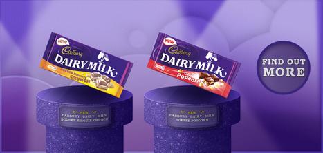 Cadbury Chocolate | Cadbury.co.uk | Chocolate, Glorious Chocolate! | Scoop.it
