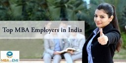 Top MBA Employers in India | MBA in India | Scoop.it