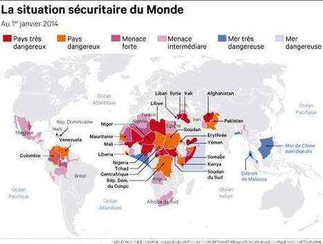 Sûreté dans le monde : Gallice publie sa carte 2013 - Les Échos | Relations internationales | Scoop.it