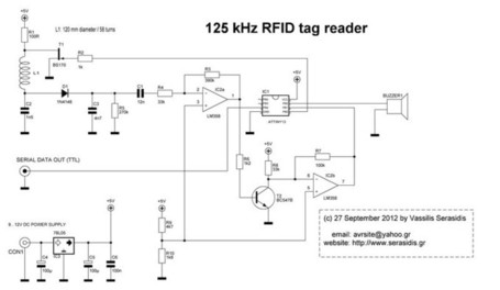 125 kHz RFID reader | Arduino, Netduino, Rasperry Pi! | Scoop.it
