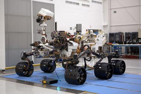 Curiosity's Mars Mission: View The Amazing Technology - InformationWeek | Bite Size Business Insights | Scoop.it
