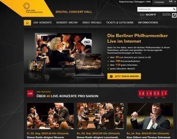 Case study: the Berlin Philharmonic's Digital Concert Hall   aquarius Digital Potential Blog   digital technologies in classical music & opera   Scoop.it