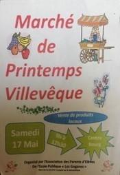 Marché de printemps - 17 mai - Villevêque | Villevêque, l'art de vivre au naturel | Scoop.it
