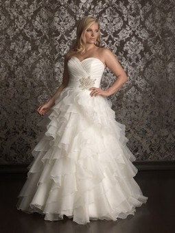 Allure Women W314 wedding dress | Bridal Fashions | Scoop.it