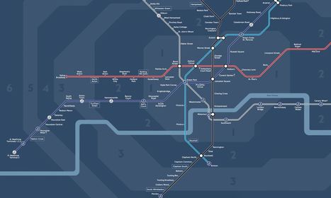 How London's New Night Tube Map Was Made | Interface Usability and Interaction | Scoop.it
