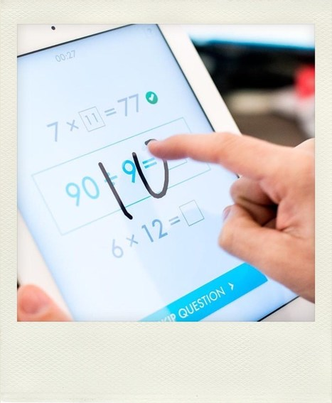5 apps para aprender matemáticas. | iPad classroom | Scoop.it
