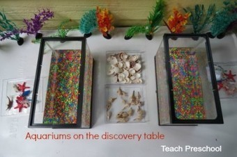 Aquariums on the discovery table | Teach Preschool | Scoop.it