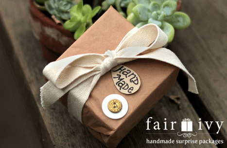 Monthly Surprise Packages | Handmade Gift Box Subscriptions | Fair Ivy | Handmade Gifts for your Beautiful Girlfriend | Scoop.it