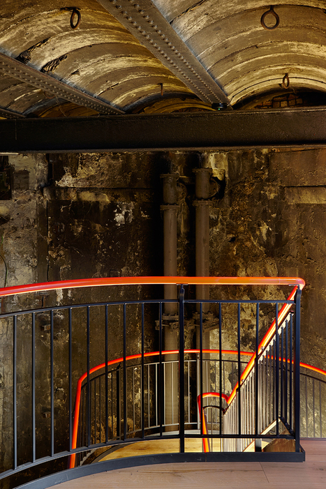 tate harmer transforms part of brunel's thames tunnel into a subterranean venue | World Architecture | Scoop.it