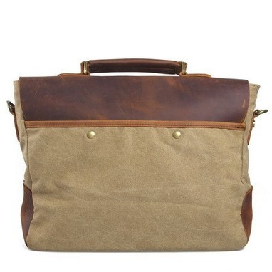 Fantastic leather and canvas messenger briefcase bags by Ubackpack | personalized canvas messenger bags and backpack | Scoop.it