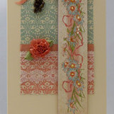 Handmade Card - Floral Banner | Books In A Creative World | Scoop.it