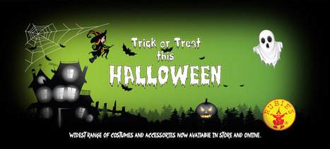 Trick or Treat this Halloween at The Toy Store: Toys Costumes | The Toystore | Scoop.it