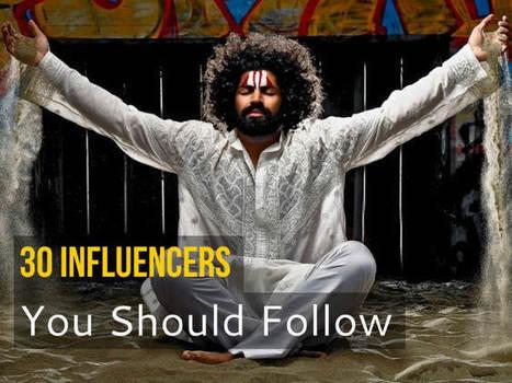 30 Social Media & Blogging Influencers you should follow | BLOGGING & BLOGS | Scoop.it