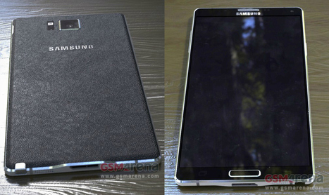 Samsung Galaxy Note 4 leaks in new picture gallery   Samsung mobile   Scoop.it