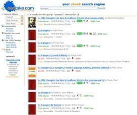 Geek stardust: 3 moteurs de recherche de livres numériques | Librairies numériques pour choisir ses ebooks | Scoop.it