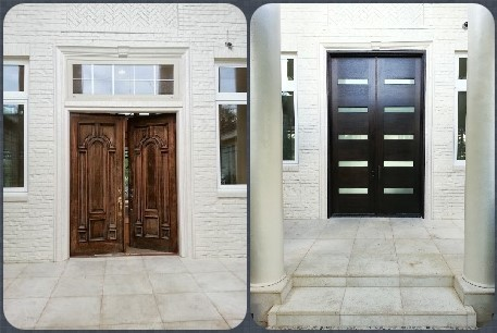Seth's Residence Contemporary Front Door Make Over | doors | Scoop.it