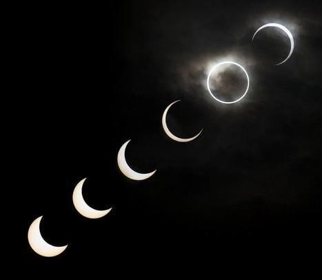 Increibles fotos del eclipse solar | Reflejos | Scoop.it