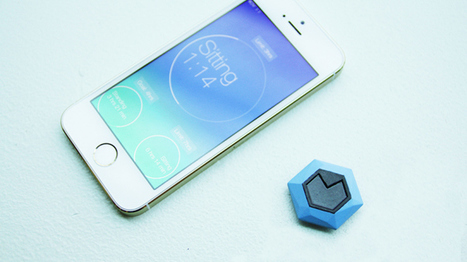 Sensor overload? Rise is a wearable that tracks how much you sit | Divers infos | Scoop.it